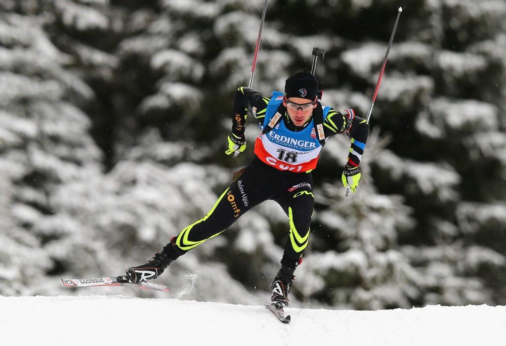 France's Baptiste Jouty claimed the men's 15km mass start gold medal ©Getty Images