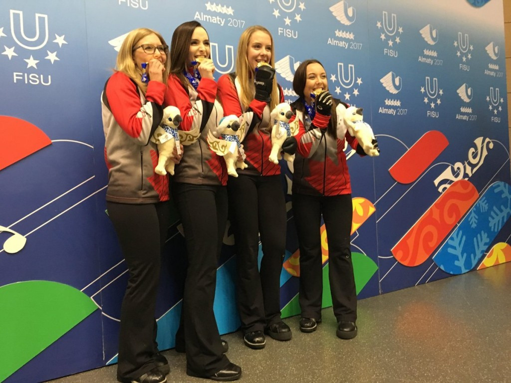 In pictures: Canada and Great Britain win curling golds on day 10 of 2017 Winter Universiade
