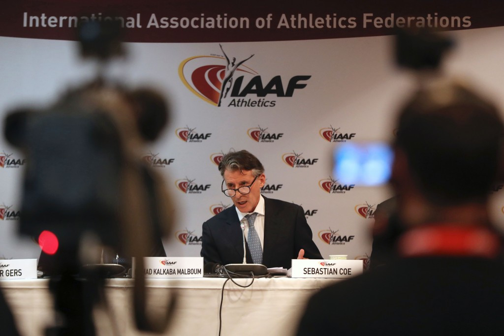 The proposal was the concept of IAAF President Sebastian Coe ©Getty Images
