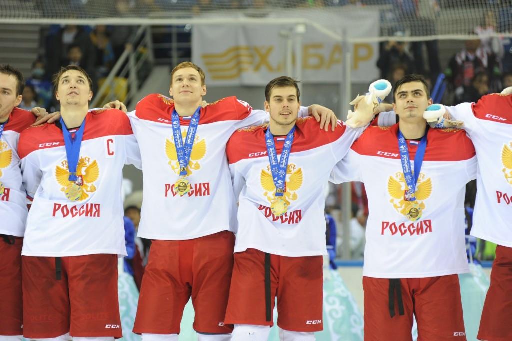 Russia beat hosts Kazakhstan to retain Winter Universiade men's ice hockey crown