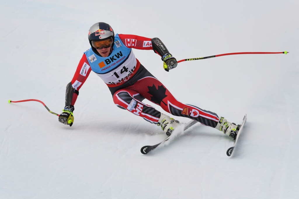 Guay becomes oldest alpine world champion with super-G victory