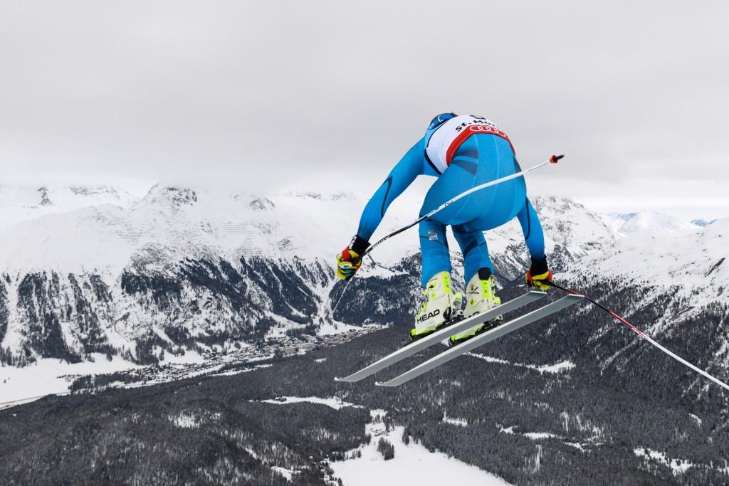 Norway's Kjetil Jansrud took home the silver medal ©Getty Images