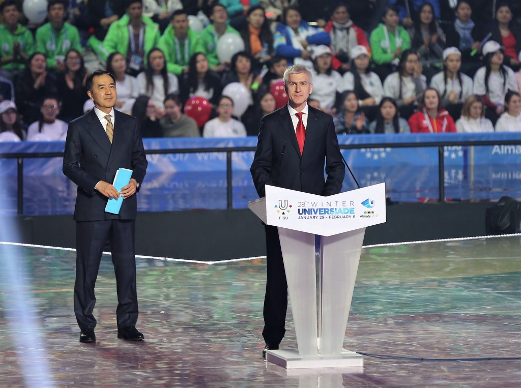 In pictures: FISU President brings down curtain on Almaty 2017 Winter Universiade