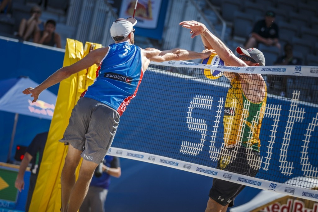 Brunner and Patterson beat Olympic gold medallists at FIVB World Tour
