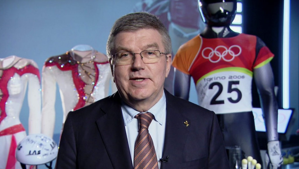 IOC President Thomas Bach invited NOCs to compete at the Pyeongchang 2018 Winter Olympics last week ©IOC
