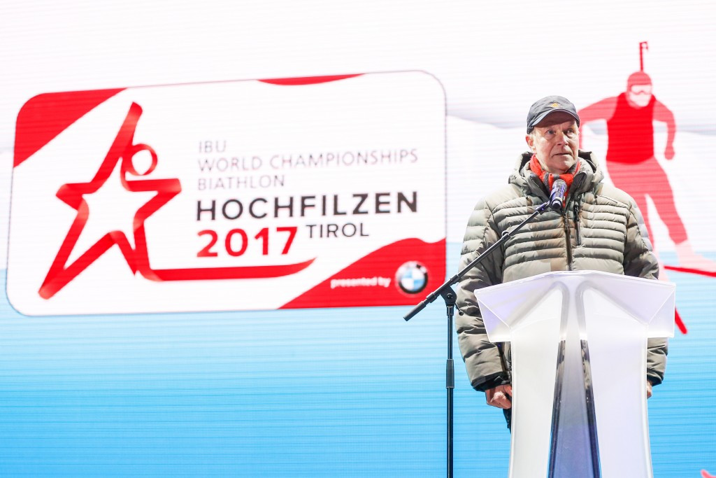 The search was conducted on the eve of the World Championships in Hochfilzen ©Getty Images