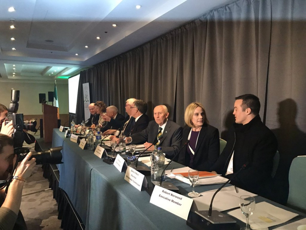 Sarah Keane, second right, has already served on the OCI Executive Committee since 2014 ©ITG