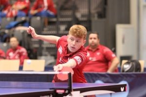 Matthews and Shilton selected for British Para-table tennis performance squad