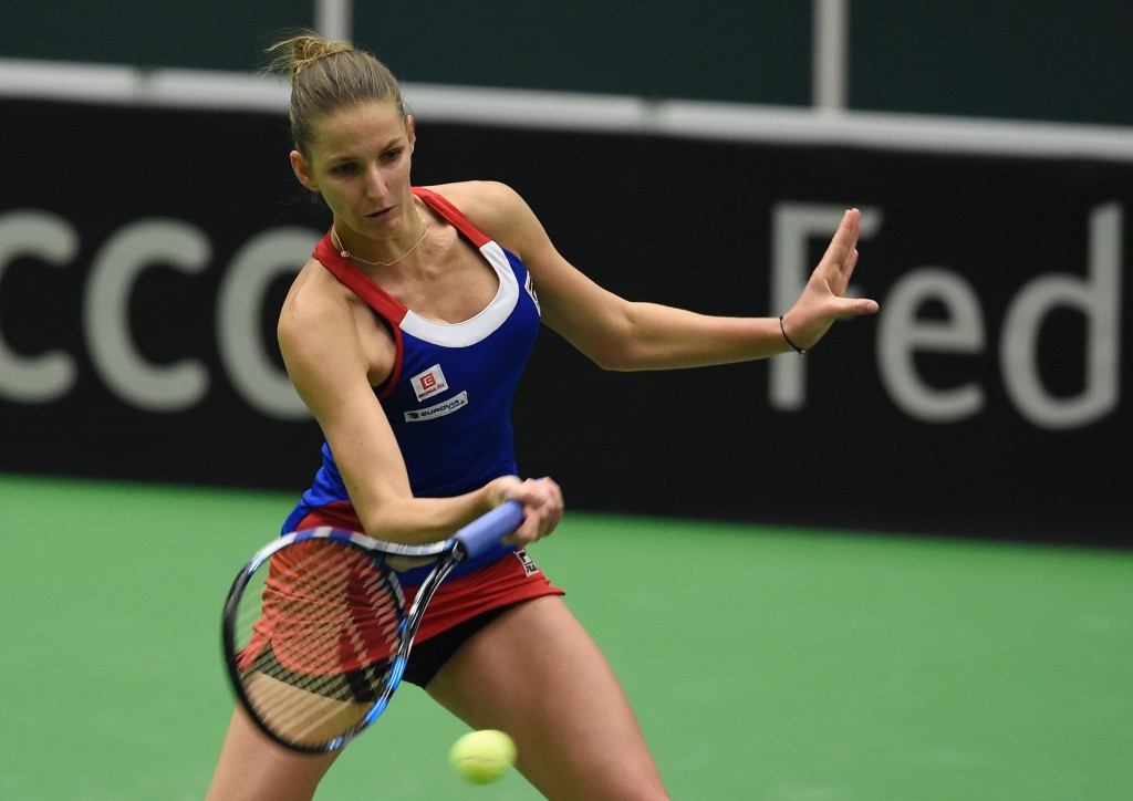 Czech Republic level with Spain after day one of Fed Cup clash