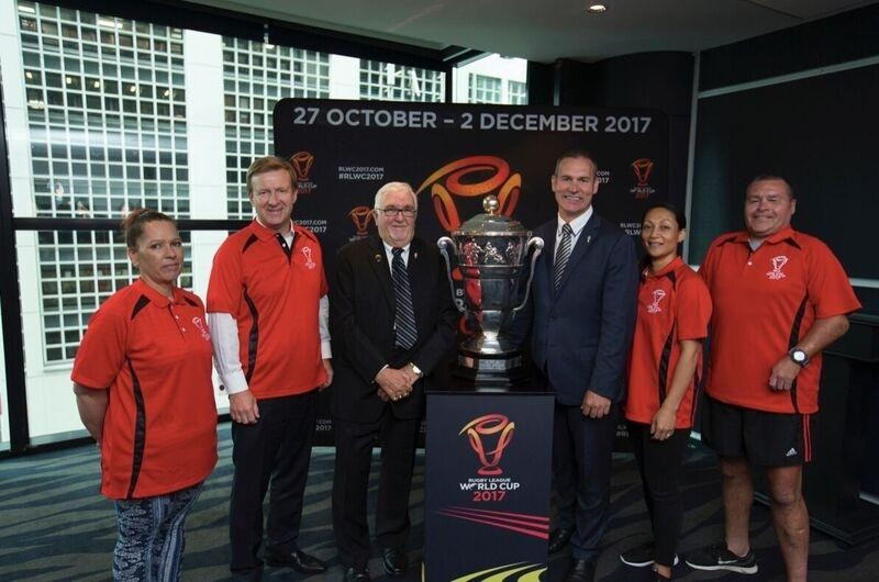 New Zealand community ambassadors for 2017 Rugby League World Cup inducted
