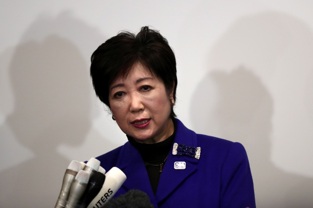 Yuriko Koike was yesterday re-elected as Governor of Tokyo ©Getty Images