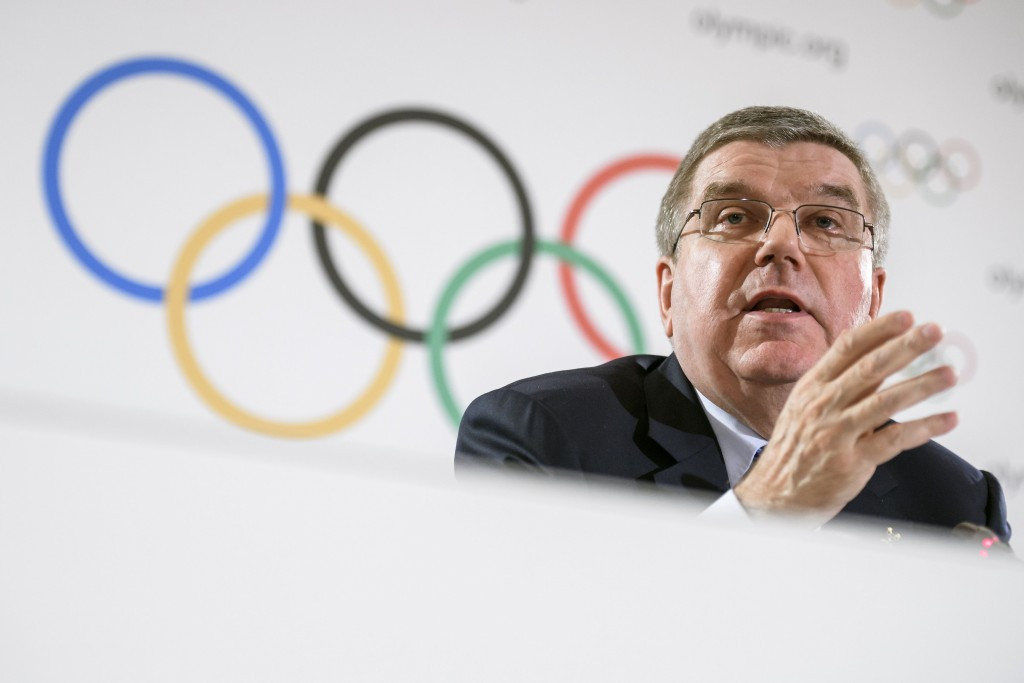 The second edition of the International Forum for Sports Integrity was chaired by IOC President Thomas Bach ©Getty Images