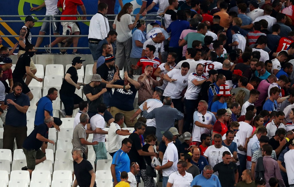 Russia were blamed for many of the crowd disturbances during Euro 2016 ©Getty Images