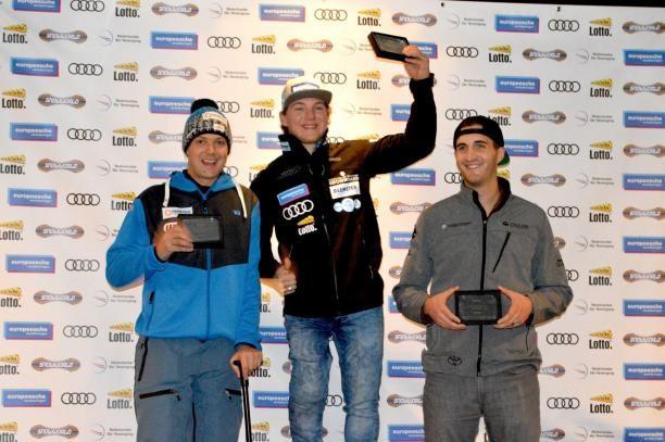 Mann tops podium at Para Snowboard World Cup in Spain