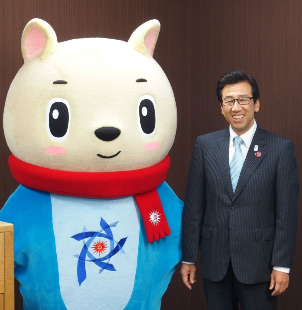 """Sapporo Mayor pledges """"unrivalled hospitality"""" during Asian Winter Games"""