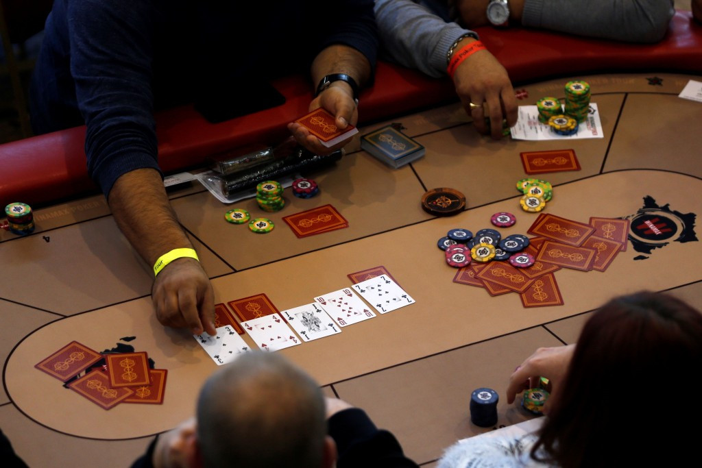 The International Federation of Poker are looking to develop the card game around the world ©Getty Images