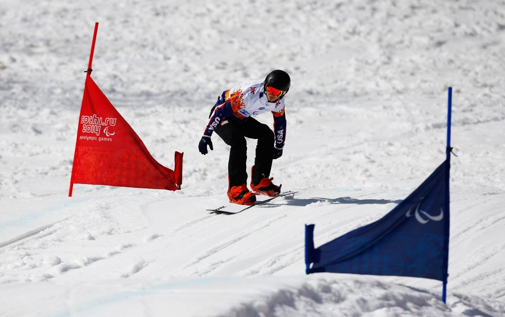 Strong claims thrilling victory at Para Snowboard World Cup