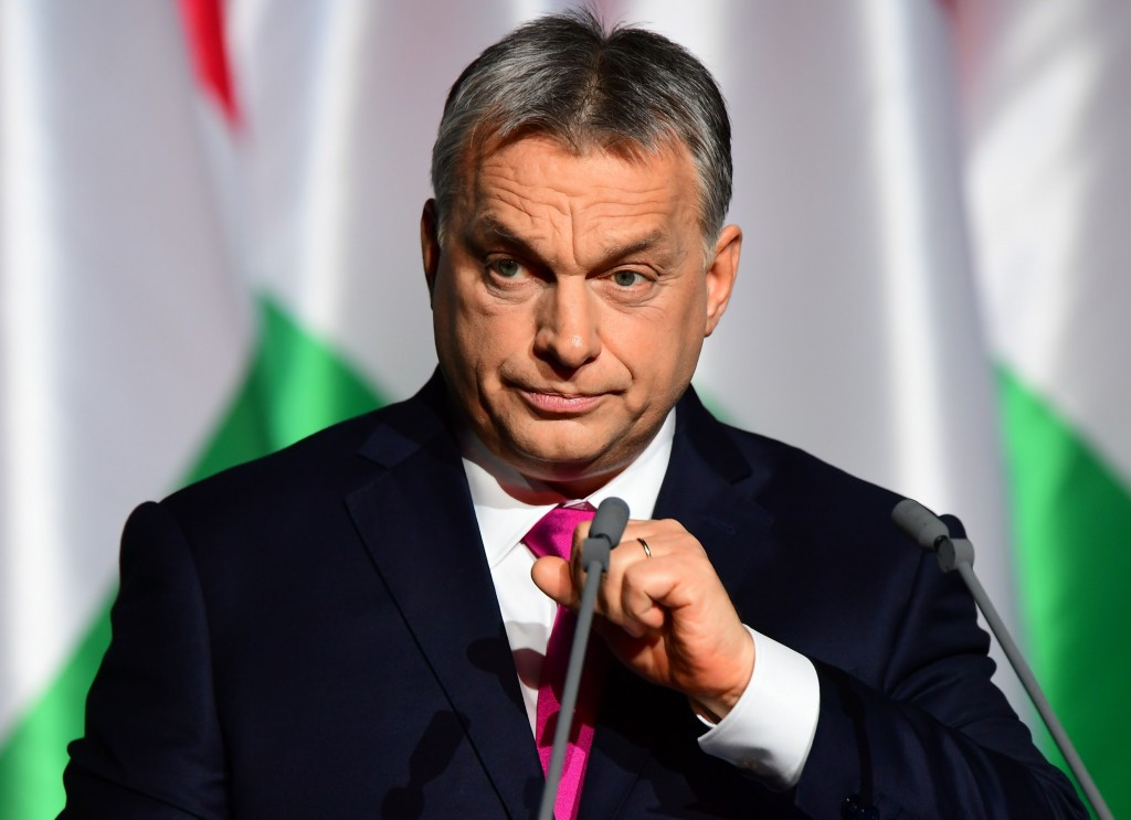 Hungarian Prime Minister Viktor Orbán said he would not comment on the initiative to hold a referendum about Budapest's bid to host the 2024 Olympics and Paralympic Games until the deadline had passed ©Getty Images