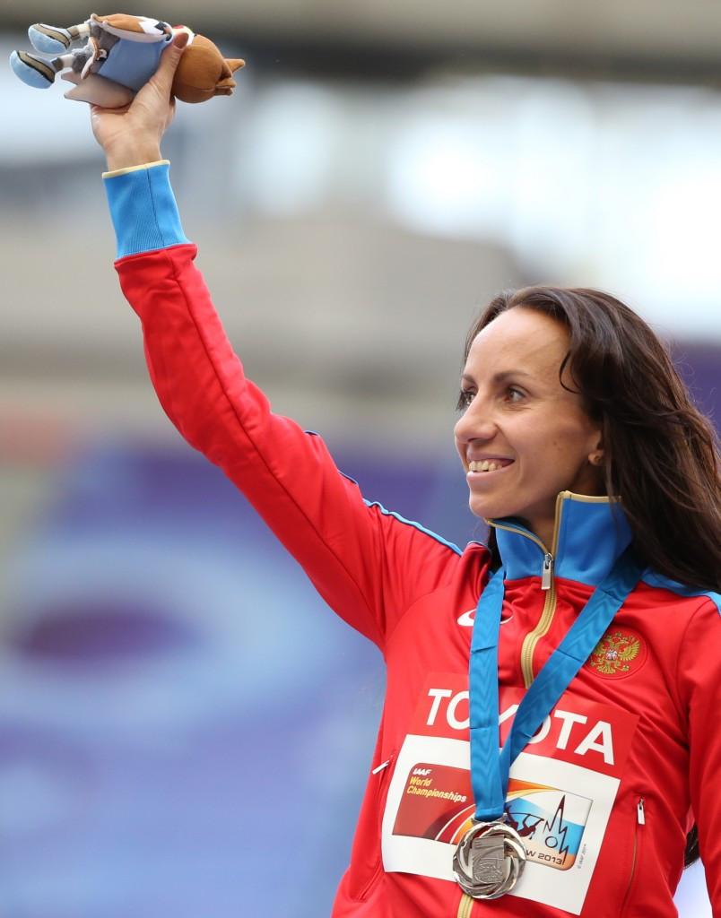 Mariya Savinova won the 800m world title in Daegu in 2011 ©Getty Images