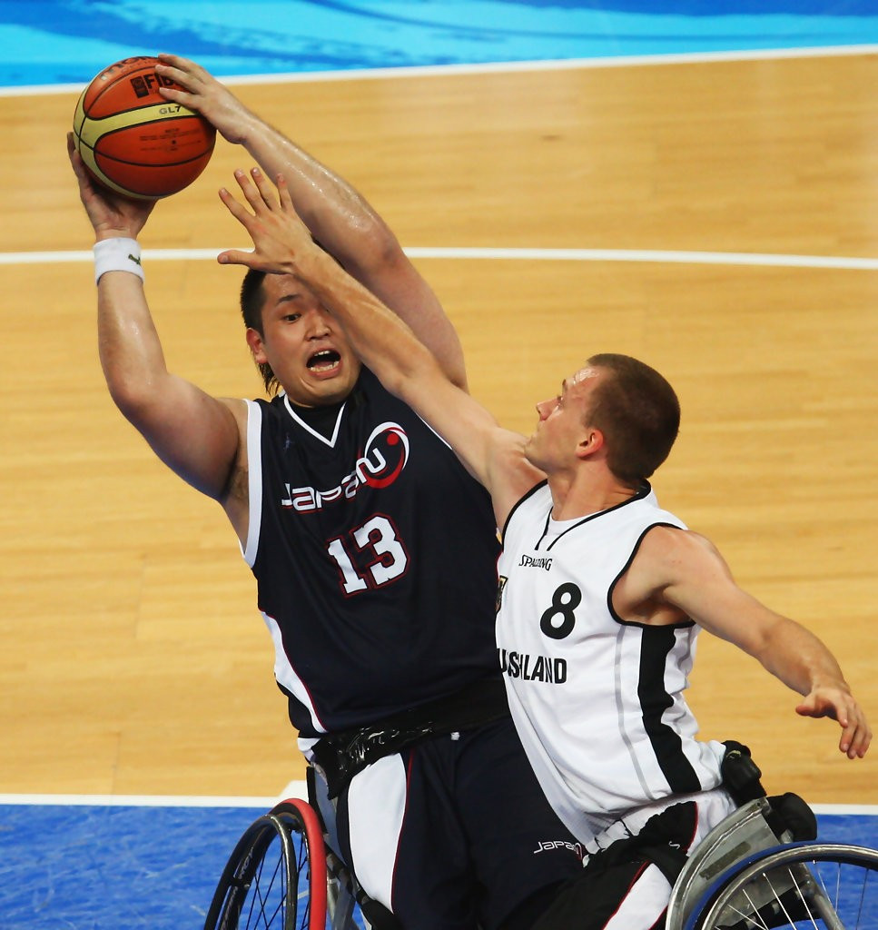 Japan's men's wheelchair basketball team are preparing to play in front of a home crowd at the Tokyo 2020 Paralympics next year ©Getty Images