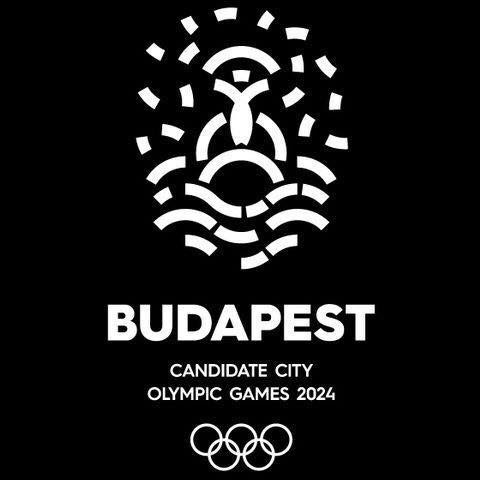 Shortly after Zoltán Kovács said the bid was being withdrawn, this image was uploaded as the Budapest 2024 Facebook page profile picture ©Facebook
