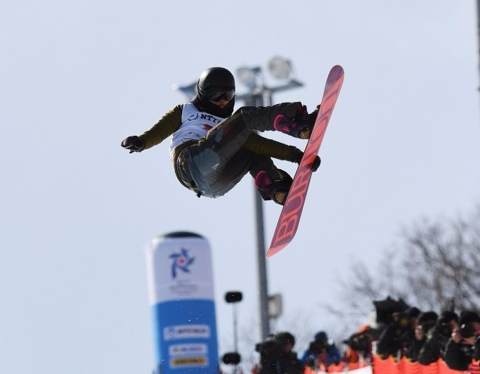 China clinch world class Asian Winter Games halfpipe snowboard double