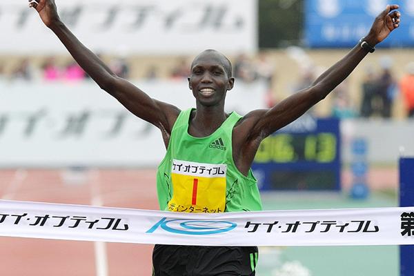 Kipsang eyes world record at Tokyo marathon