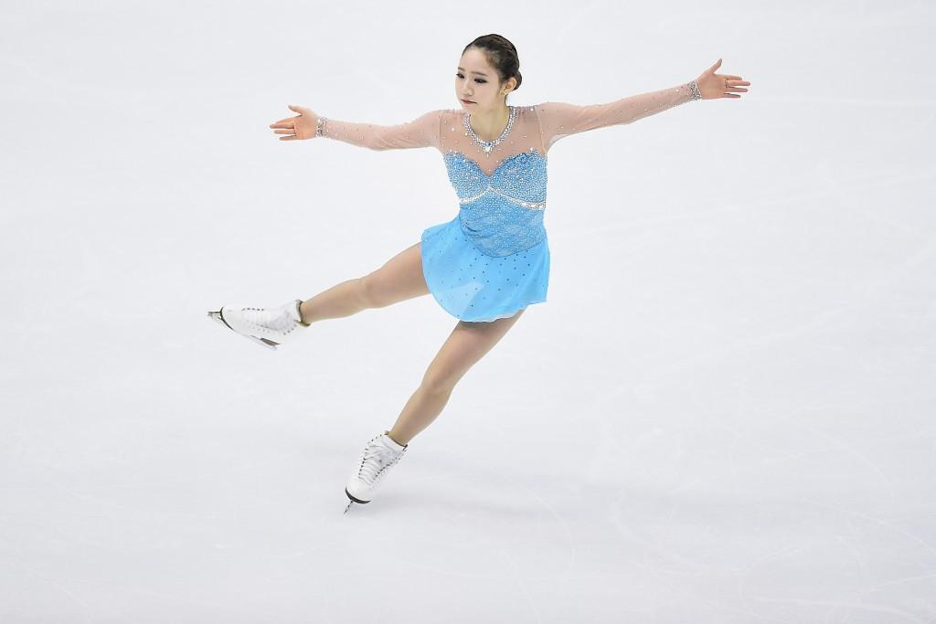 Choi crowned ladies ice skating champion at Asian Winter Games