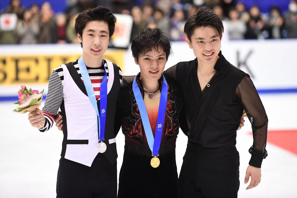 Japanese star is numero Uno in men's figure skating
