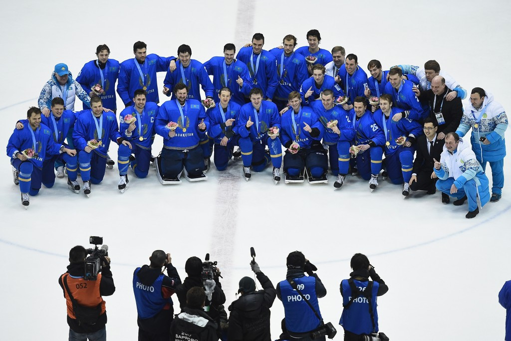 Kazakhstan complete perfect record to clinch continental ice hockey crown
