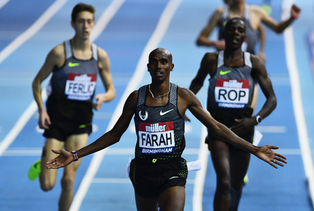 """Four-time Olympic gold medallist Sir Mo Farah has reiterated he is a """"clean athlete"""" ©Getty Images"""