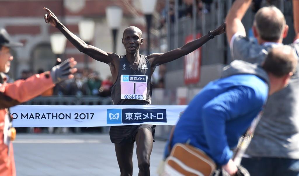 Kipsang wins Tokyo Marathon but misses world record mark