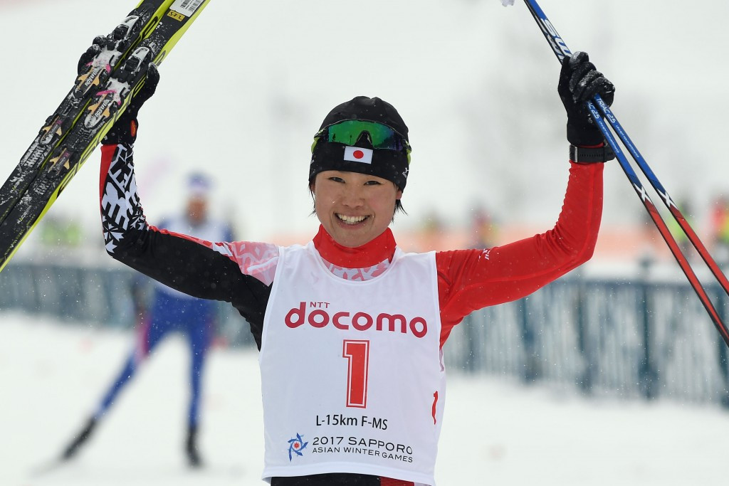 Yuki Kobayashi won her fourth gold medal at Sapporo 2017 ©Getty Images