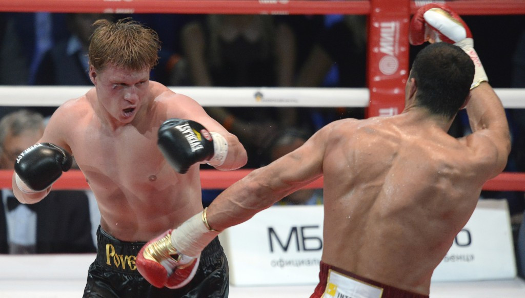 Alexander Povetkin has been banned indefinitely and fined for failing two drugs tests in 2016 ©Getty Images