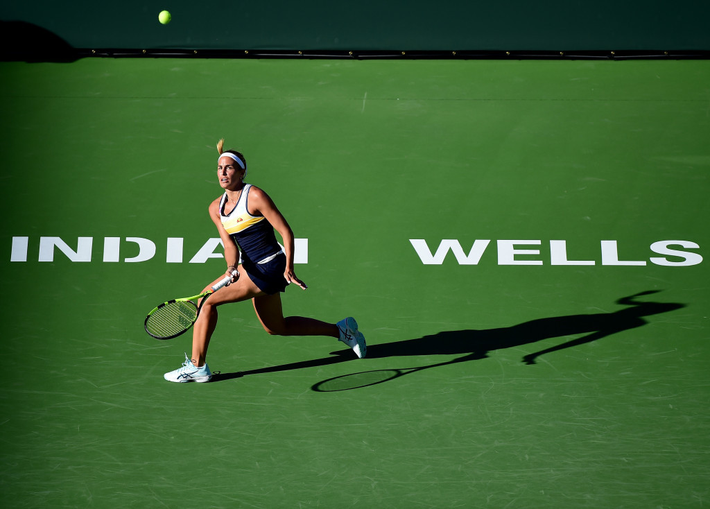 Olympic champion Puig through at Indian Wells Masters