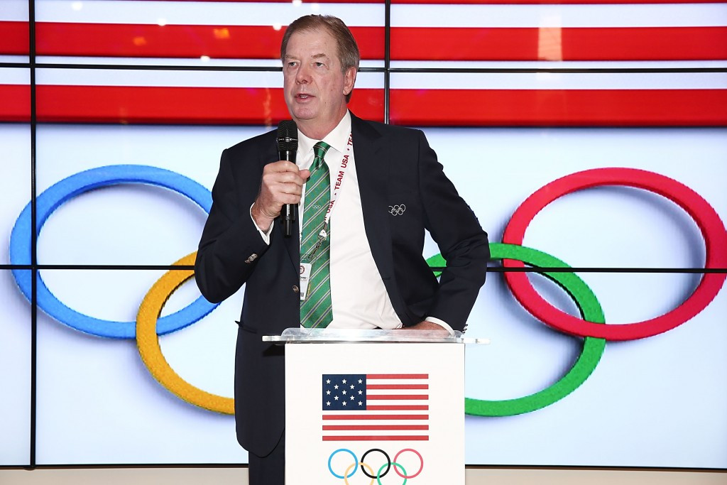 USOC chairman Larry Probst chaired the Board meeting today in Colorado Springs ©Getty Images