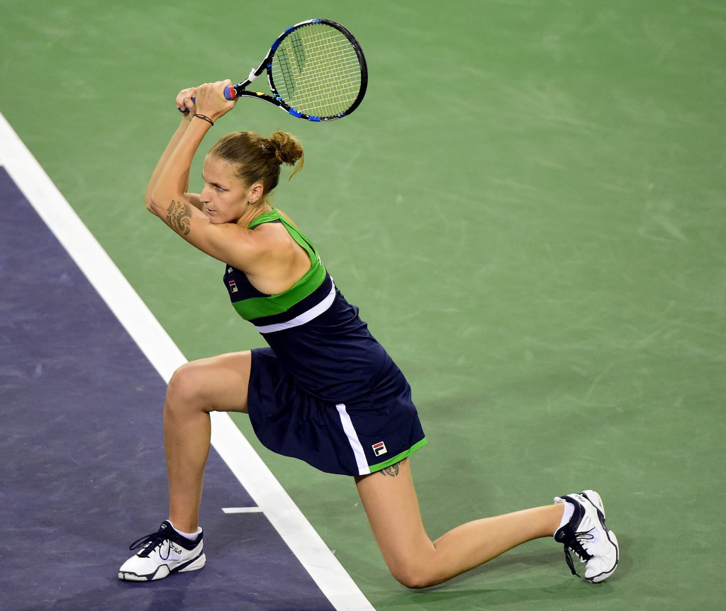 Plíšková battles to three-set win over Olympic champion Puig at Indian Wells Masters