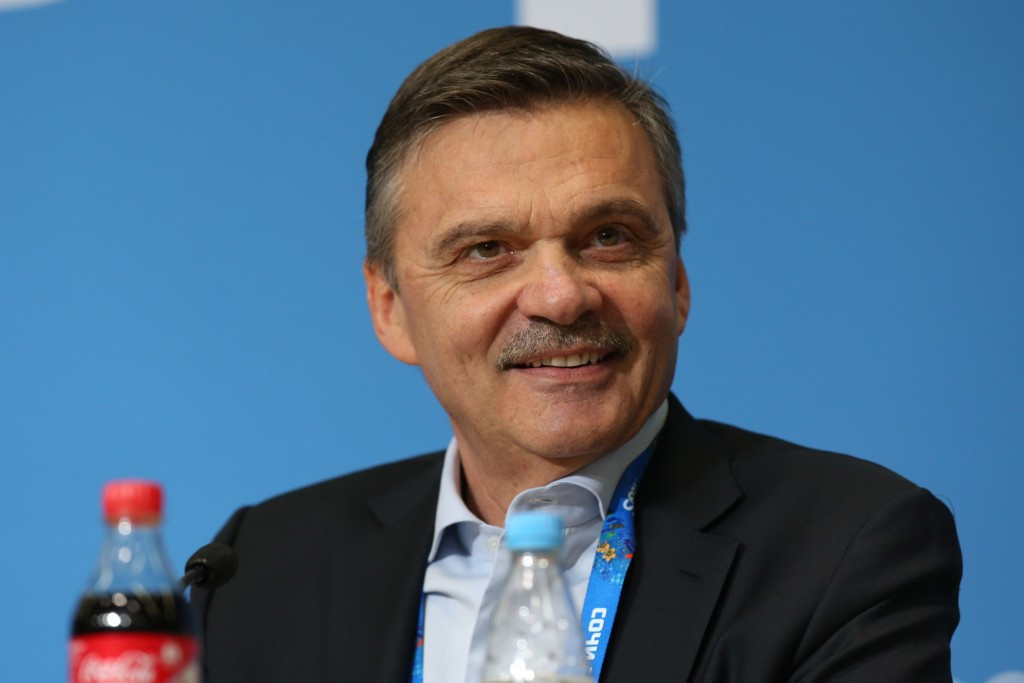 """René Fasel remains """"50-50"""" over NHL participation at Pyeongchang 2018 ©Getty Images"""