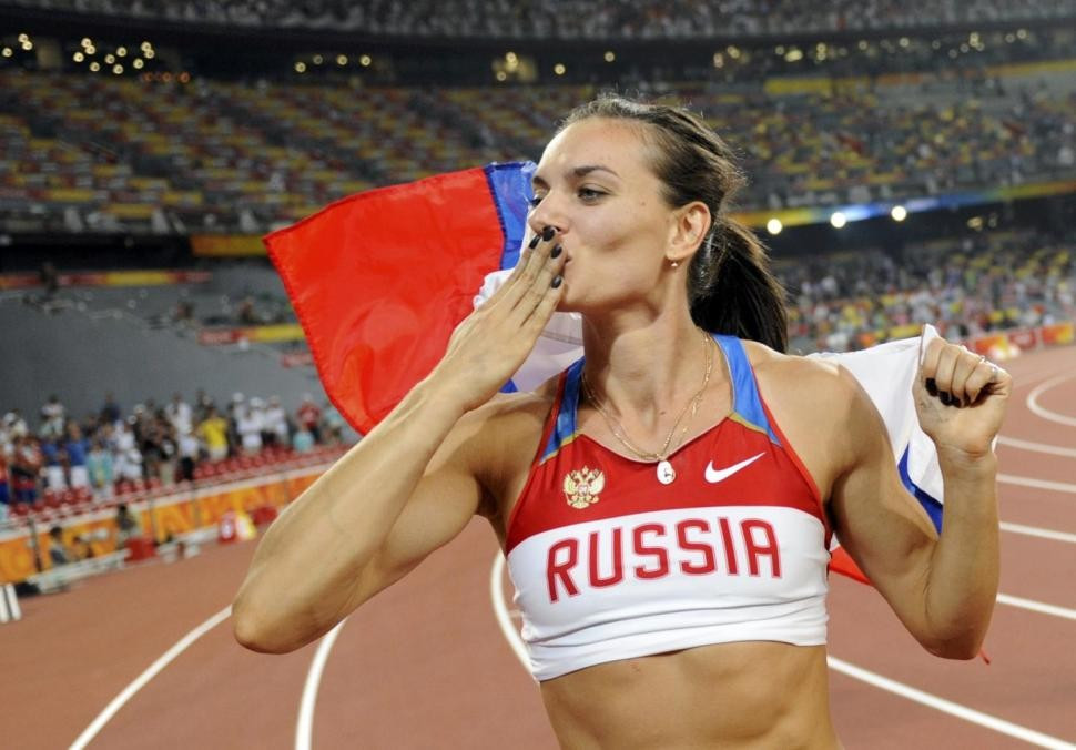 Yelena Isinbayeva was permitted to enter the IOC Athletes' Commission race despite missing the deadline ©Getty Images