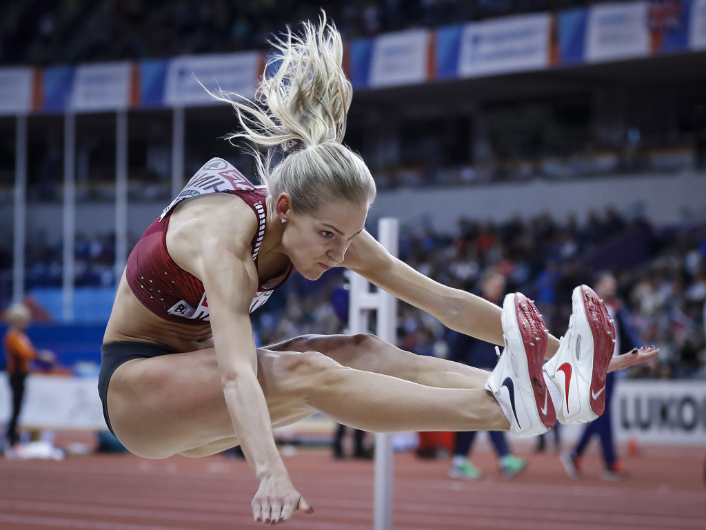 Long jumper Darya Klishina was the only Russian track and field star allowed to compete at the Rio 2016 Olympic Games ©Getty Images
