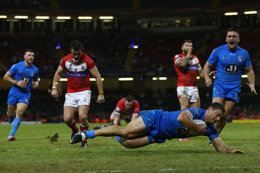 Modern Italian rugby league only dates back to 2002 ©Getty Images