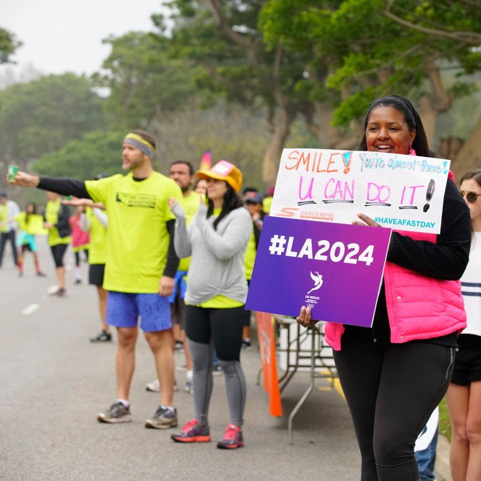 Los Angeles Mayor Eric Garcetti wants the city to host the 2024 Olympics and Paralympics, not wait until 2028 ©Los Angeles 2024
