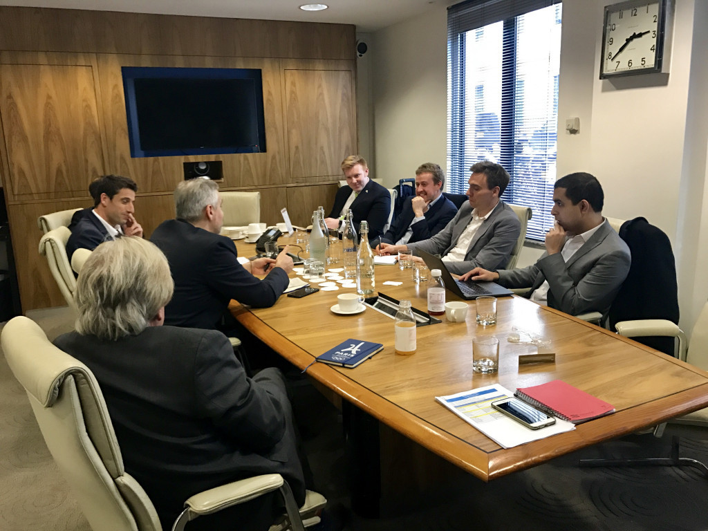 Tony Estanguet was speaking at a round-table event in London today ©VERO communications
