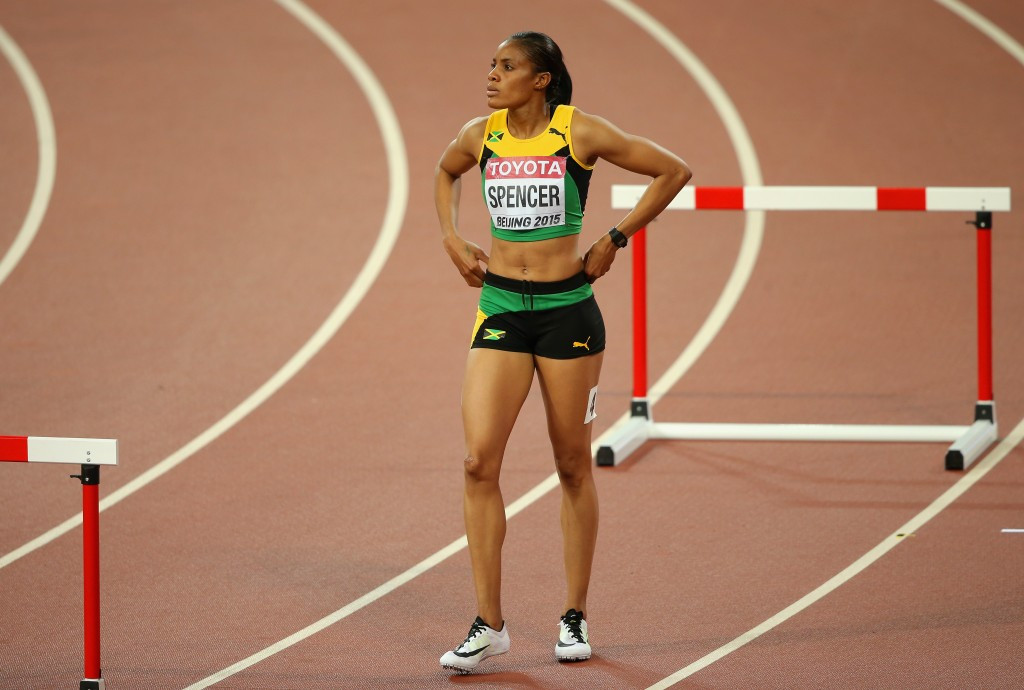 Kaliese Spencer has denied any wrongdoing ©Getty Images