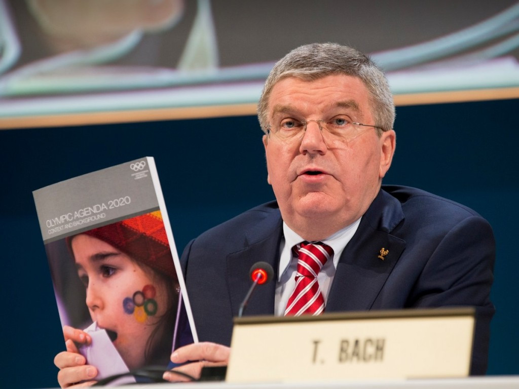 Los Angeles 2024 chairman Casey Wasserman claims that they are the only city which fulfills the aims of Agenda 2020, launched by Thomas Bach in December 2014 ©Getty Images