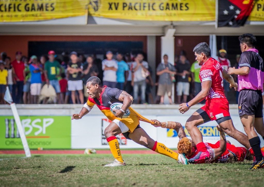 The Pacific Games: Day eight of competition