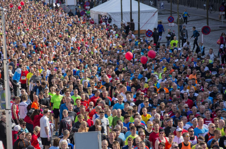 Organisers of the 2019 IAAF World Cross Country Championships in Aarhus want to harness the same mass participation and energy that made the 2014 Copenhagen World Half Marathon Championships such a success ©Getty Images