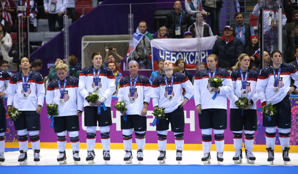 Members of the United States women's team remain united in boycotting the World Championships over a pay dispute ©Getty Images