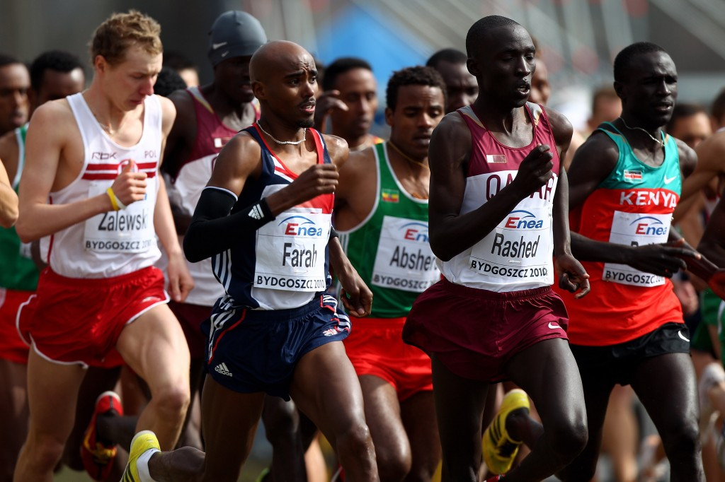 British track superstar Sir Mo Farah has not contested a World Cross Country Championships since placing 20th at the 2010 edition in Bydgoszcz in Poland but it helped his development as a track athlete ©Getty Images