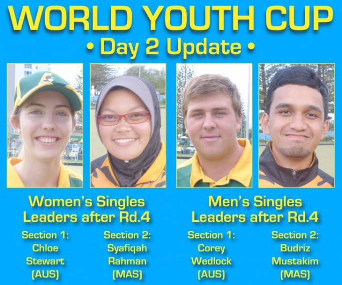 Four sections of round-robin competition has already taken place at the World Youth Bowls Championships ©World Bowls
